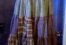 cute patchwork  skirt