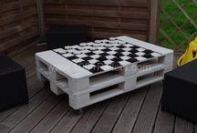 Šachové stolky