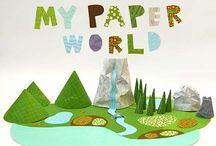 Paper Toy / by 0__X feketreke