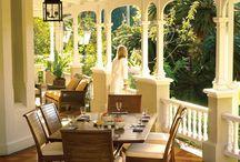 Houses porches