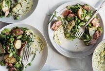 + salad +