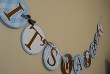 boy baby shower / by Laura Mest