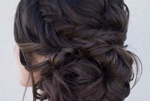 wedding hair and make up / by Alyssa Humphreys