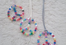 KIDS CAN CRAFT!(Beads) / kid crafts / by Brittany Burton Wilkinson