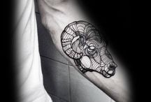 aries tattoo