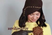 Sombreros / Sombreros de fieltro, realizados a mano
