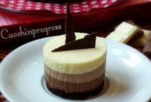 Mousse ai tre cioccolati