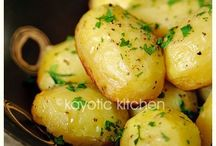 Potatoes chicken broth