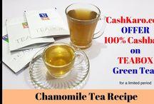Tea / Green Tea Recipes