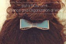 Productivity and Organization Tips