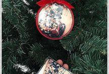 Globuri Craciun / Globe Christmas / Christmas, custom, globe, handmade, background, ideas, gift / Craciun, glob personalizat cu poza, fotografie, tutorial, idei handmade.