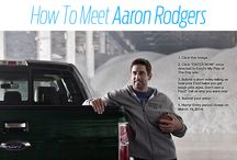 Meet Aaron Rodgers and win a 2014 Ford F-150 / http://www.myplayoftheday.com/  Want to meet Wisconsin pro quarterback, Aaron Rodgers?  Here's your chance!! Simply submit a quick video on http://www.myplayoftheday.com, and if you win - you will get a meet Aaron Rodgers AND win a 2-year lease on a brand new 2014 Ford F-150! For additional details, visit:  http://www.myplayoftheday.com