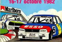 Affiches / Bien avant Les Grandes Heures Automobiles sur l'Autodrome de Linas-Montlhéry, des affiches et illustrations autour ce circuit mythique.