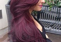 hair colour ( red)