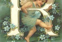 alfabeto dos anjos