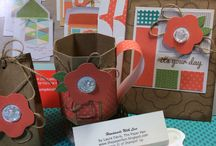 Stampin' Up! Paper Pumpkin - Box and Out of the Box / Pumping up the Paper Pumpkin