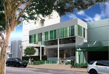 Commercial Facade Refurbishment / Toowong, Brisbane