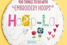 Embroidery and art and crafts