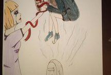 Bad thoughtd / Bilder die ich selbst zeichne