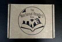Book Boxes / Unboxings for various book subscription services