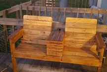 Pallet Chairs / Pallets Ideas, Designs, DIY, Recycled, Upcycled Pallet Plans And Projects.