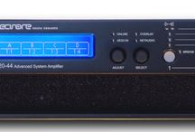 TECNARE T20-44 / Share the same features set and form factor as Tecnare's T48 Series amplifier and it is available in models developing between 1500 and 5000 Watts per channel or up to 10000 Watts for a bridged pair. The integrated state-of-the-art DSP being the perfect complement to the world's finest loudspeaker systems. The T44 Series delivers high power and sonic quality thanks to a careful design of all its components.