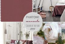 Color of the Year - Marsala / by Kate Eschbach-Songs Kate Sang)