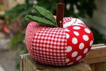 fabric apple