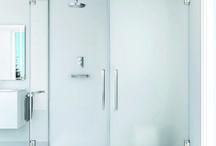 Mamparas de ducha / En este tablero encontrarás variedad de modelos de mamparas para tu ducha. ¿Qué te parecen?
