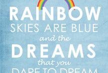 Hannah Birthday Rainbow ideas