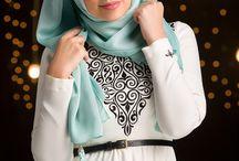Hijab poses