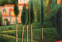 Gerda collage painting