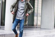 Мужской стиль. Зимняя одежда.