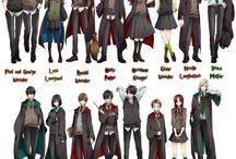 Manga Harry Potter