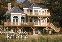 Waterfront Style Homes / Want to build a home near your favorite lake, just up the beach from the ocean or within view of a winding river? Explore timber framing as a solution for your bungalow, cape or seaside designs.