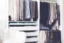 Wardrobe interior layout