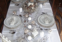 décoration de table Noël