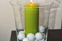 Golf Party Ideas / Ideas for a golf themed event.