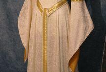 trajes medieval dama