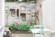 Courtyard ~ Balcony