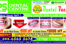 PS Dental Centre / PS Dental Centre is a best dental clinic in chennai. Our dentist providing an excellent treatment for dental probelm. We are the leading muti-speacilist dental and surgical dentistry. dental clinic in Chennai, T Nagar, KK Nagar, ECR. For more info call 044 6565 5678.