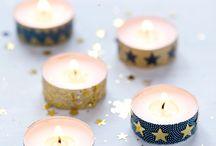 Décoration de Noël / Quelques idées piochées sur le web pour faire sa propre déco de Noël #Deco #Xmas #Noel #DIY