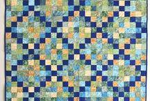 Iris chain quilts