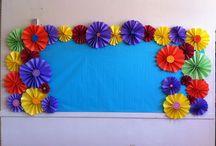 Spring Classroom Display