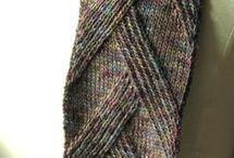 Wzory na szalik