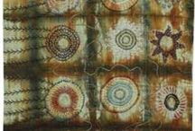 Textiles/ ArtCloths/ Traditional Quilts / Art Cloth, Woven, Decorative Stitches, Collages, Printed, Knitted, Crocheted, Quilts / by Ginny French