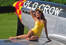 Aviation Pinup Girls