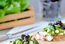 Asperges / Asperges vertes, asperges blanches, asperges violettes ou même asperges sauvages, voici des recettes pour cuisiner l'asperge sous toutes les coutures.