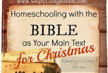 CHRISTmas and Homeschooling