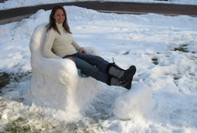 Easy Snow Sculptures / by BakerGal at bakergal.com